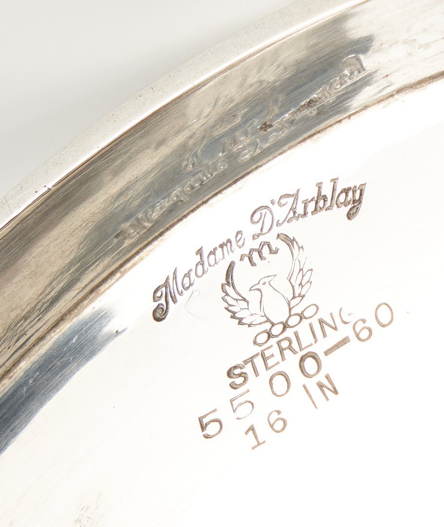 Lot 530: Meriden Sterling Silver Vase