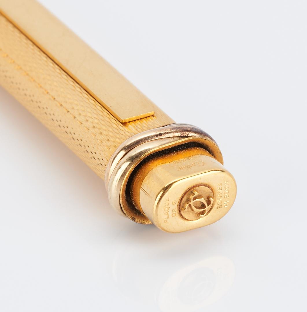 Lot 53: 7 Pens, incl. Montblanc, Cartier, Parker, Waterman