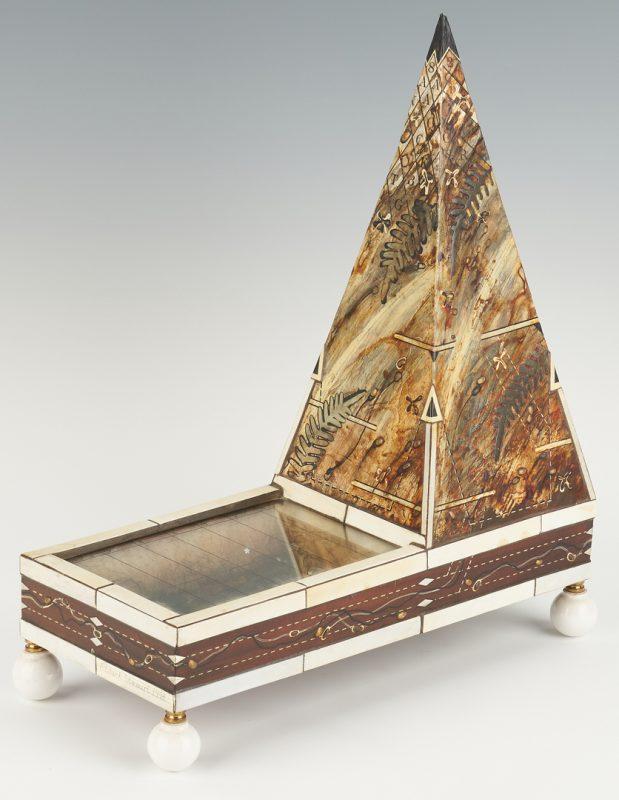 Lot 560: F. Clark Stewart Pyramid Sculpture
