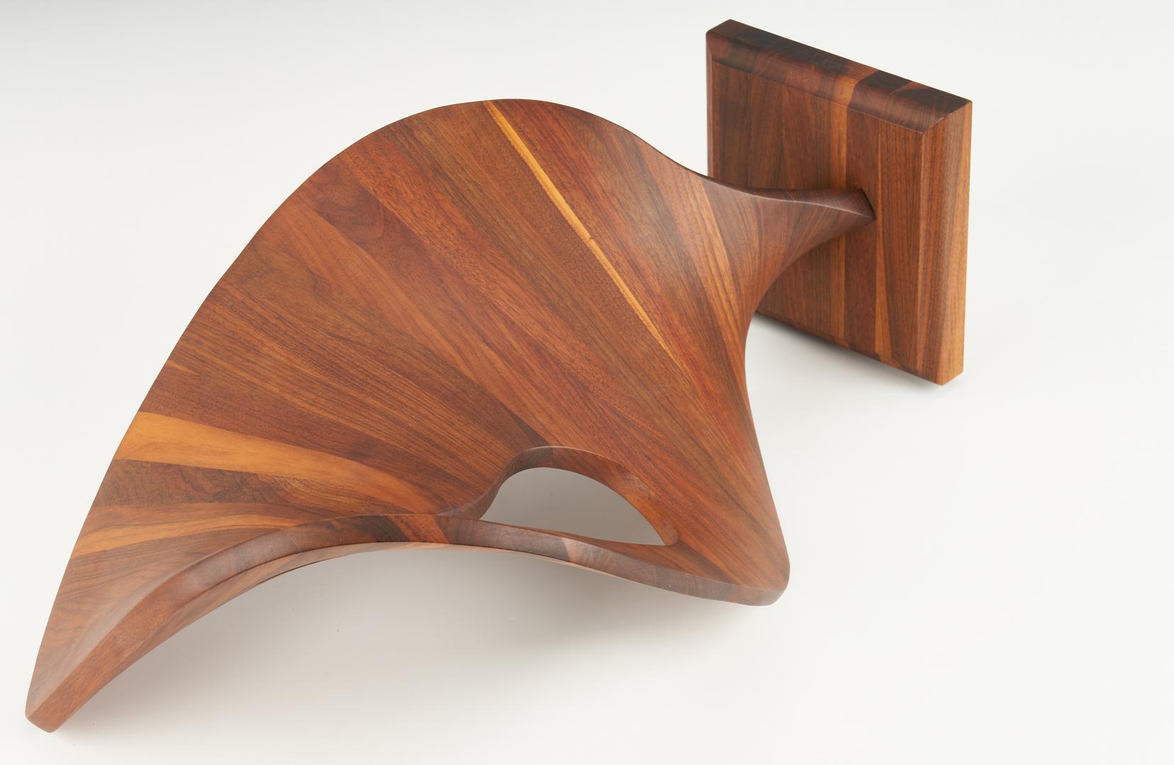 Lot 562: Robert Keyser Abstract Wood Sculpture
