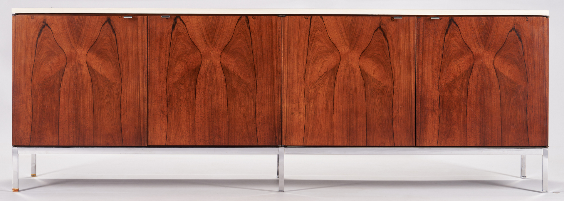 Lot 589: 1960s Florence Knoll Credenza, Marble Top