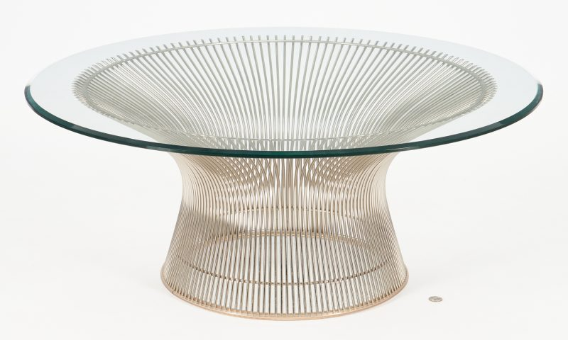 Lot 591: Warren Platner for Knoll Coffee Table