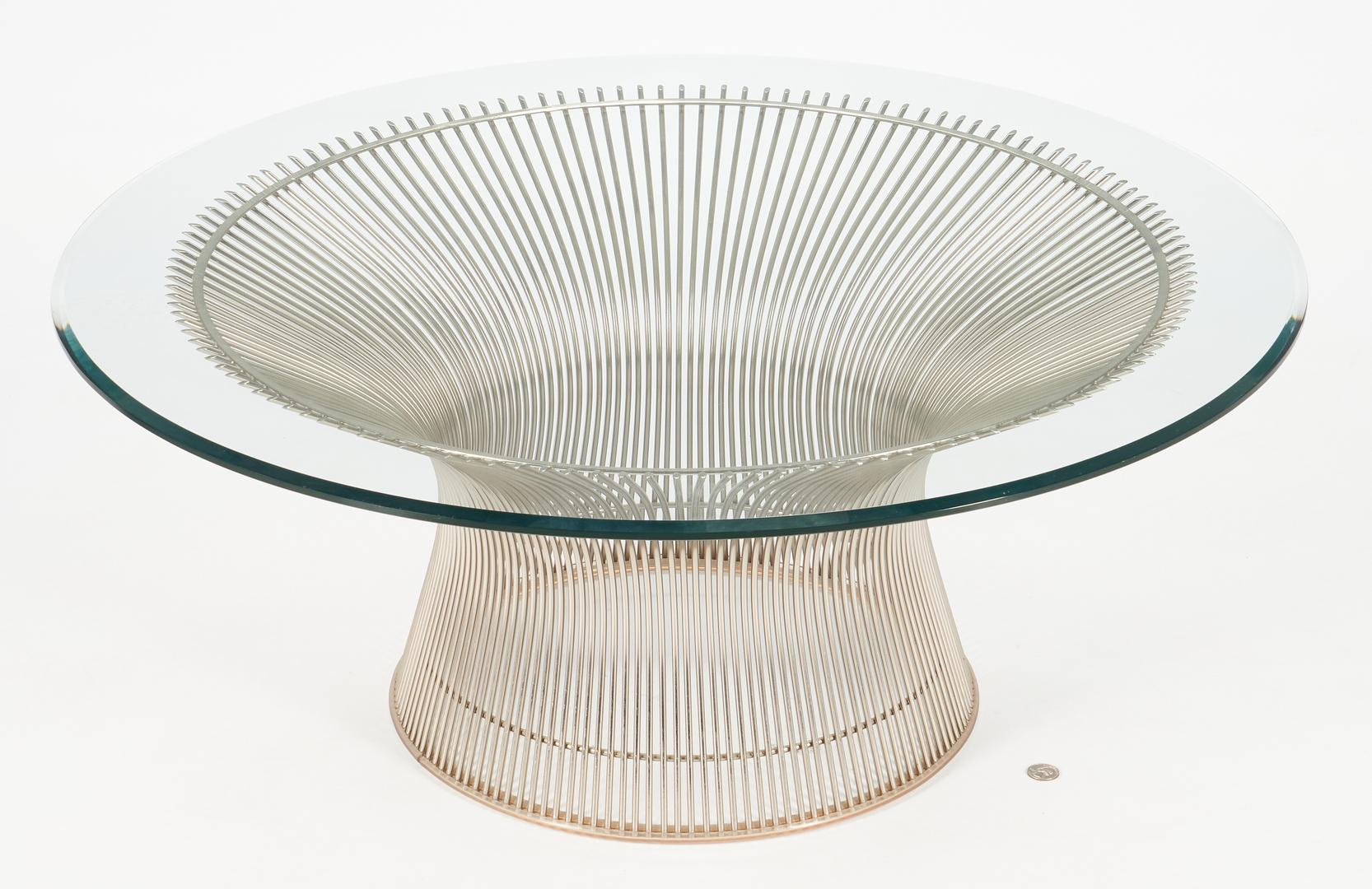 Lot 591: Warren Platner for Knoll Coffee Table