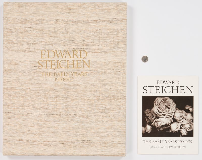 Lot 599: Edward Steichen, The Early Years, Print Portfolio