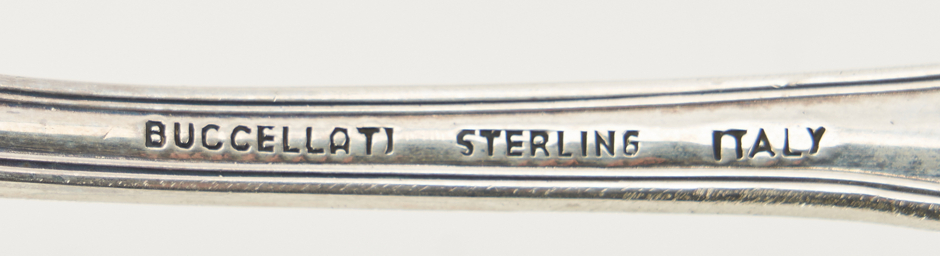 Lot 59: 84 Pcs. Buccellati Empire Sterling Flatware