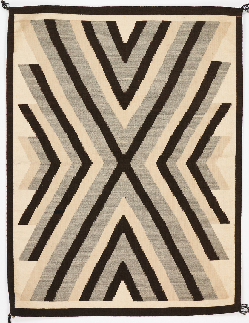 Lot 609: 2 Navajo Native American Rugs