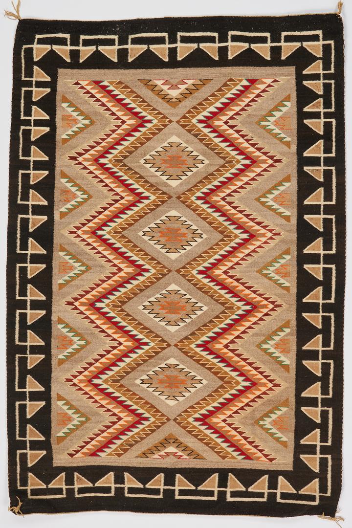 Lot 610:  Navajo Eyedazzler Wool Blanket