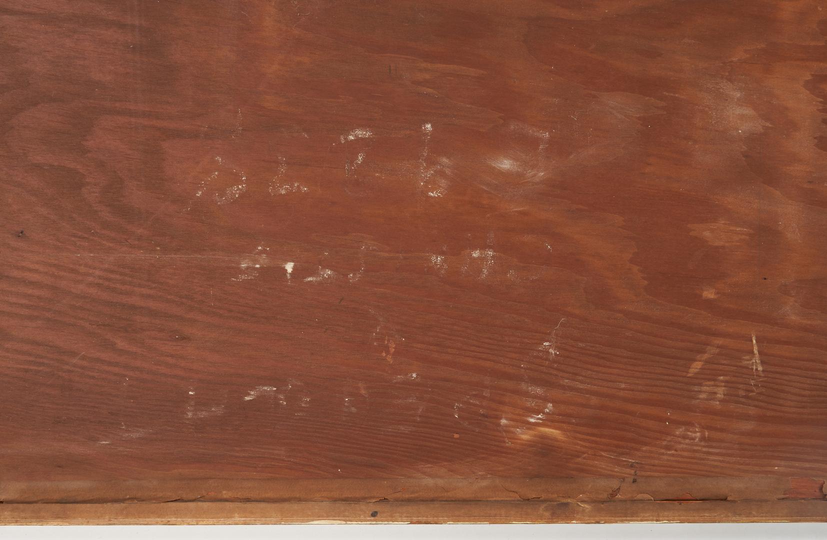 Lot 613: Pair Stumpwork Tapestry Drapery Panels