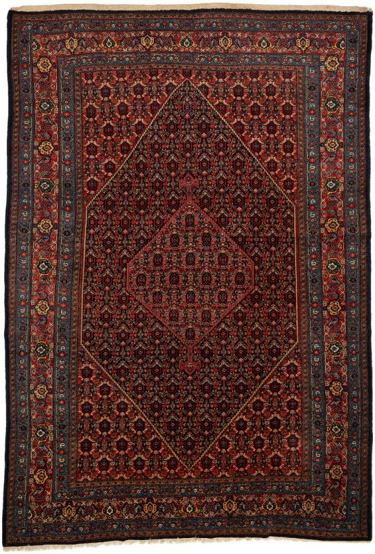 Lot 614: Persian Senneh Room Sized Carpet