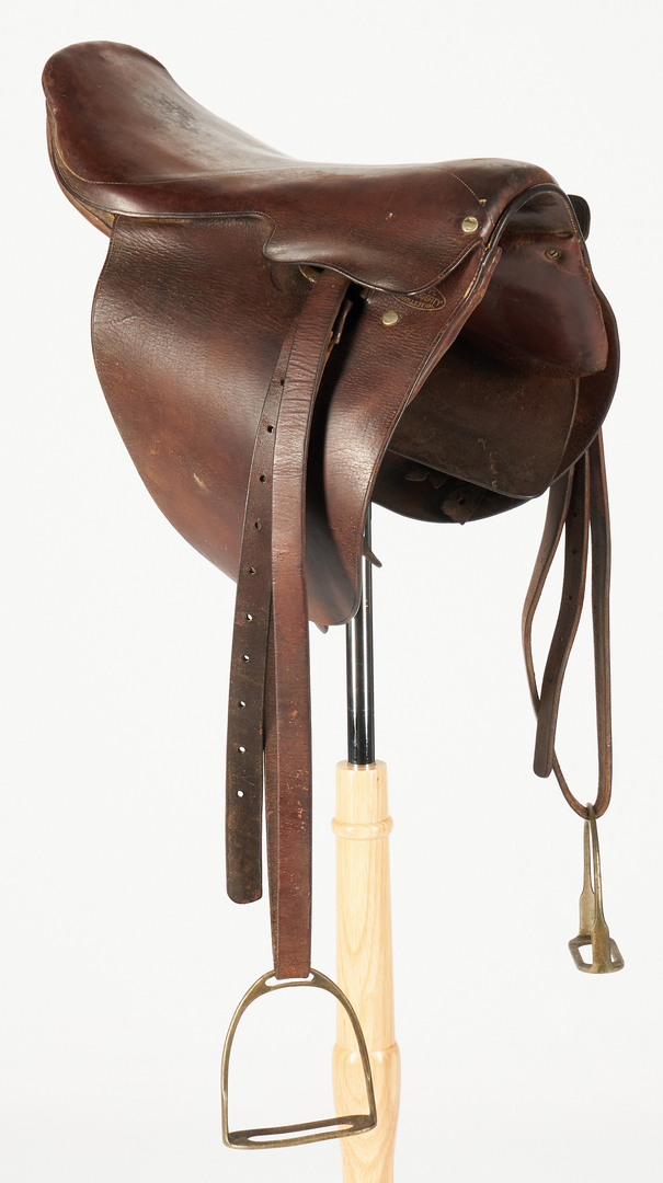 Lot 619: S. B. Swaggerty Nashville TN Saddle