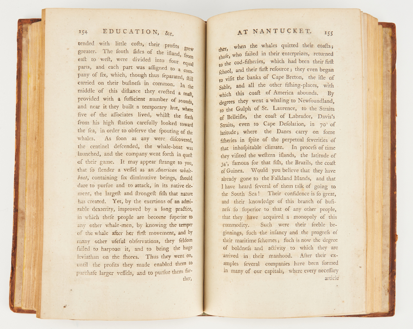 Lot 624: Letters from American Farmer, 1783 with maps
