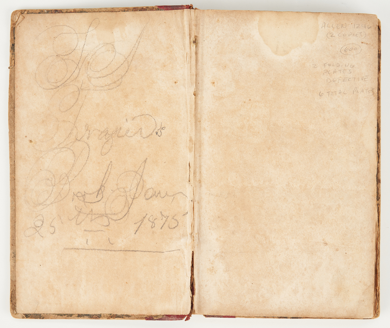 Lot 628: 2 TN Medical Related Books, incl. Simplified Anatomy