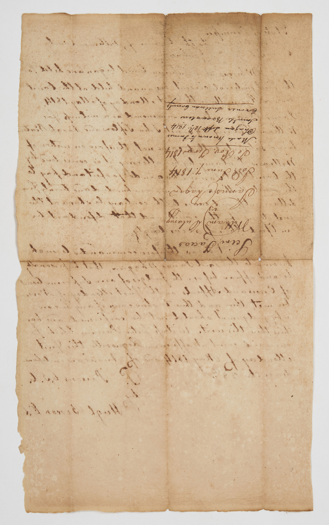 Lot 634: Large Early Tennessee Legal Archive, 100 plus items