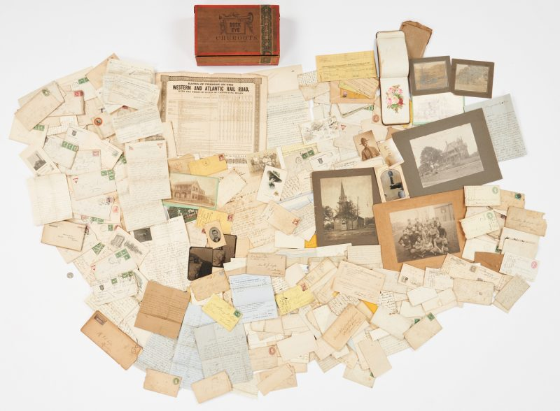 Lot 635: Large TN & WV Taylor / Feamster Family Archive