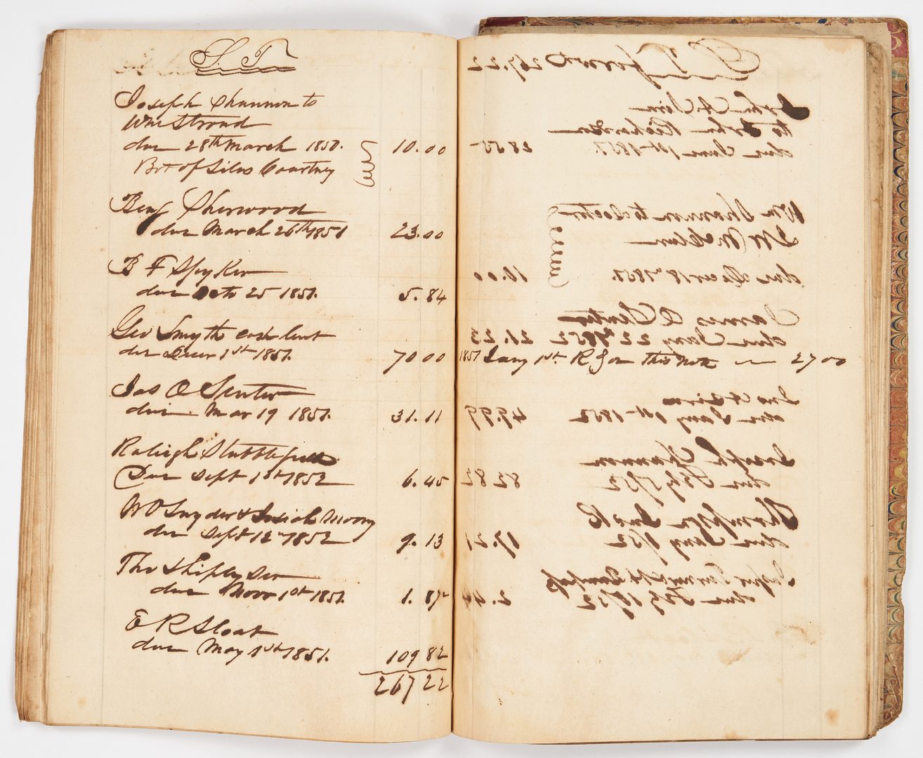 Lot 637: 6 Ledgers, Likely Related to Cheeks Cross Roads, TN