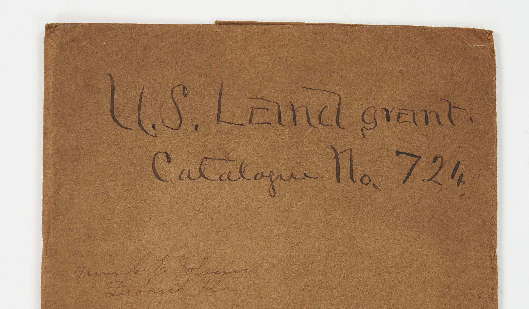 Lot 648: 10 TN and VA Land Grants, incl. Pres. Fillmore and Buchanan Signed, War Related
