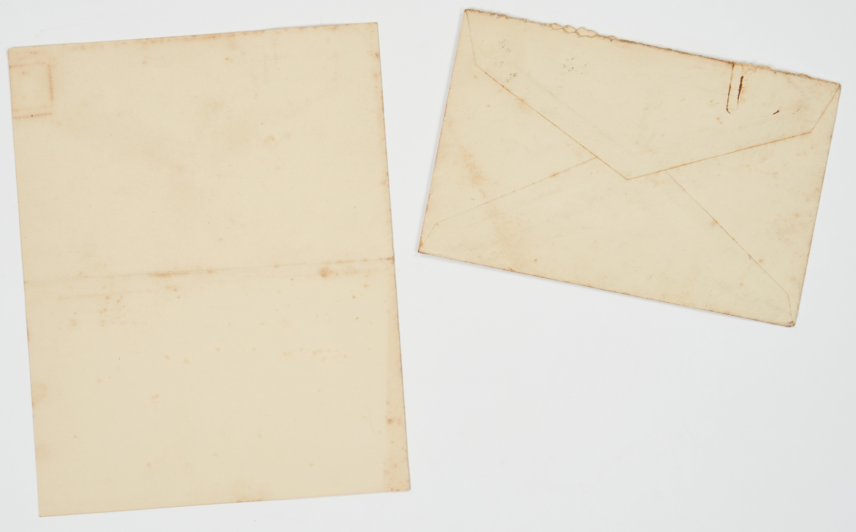 Lot 650: Archive including 3 Signed Warren G. Harding Letters, 7 items