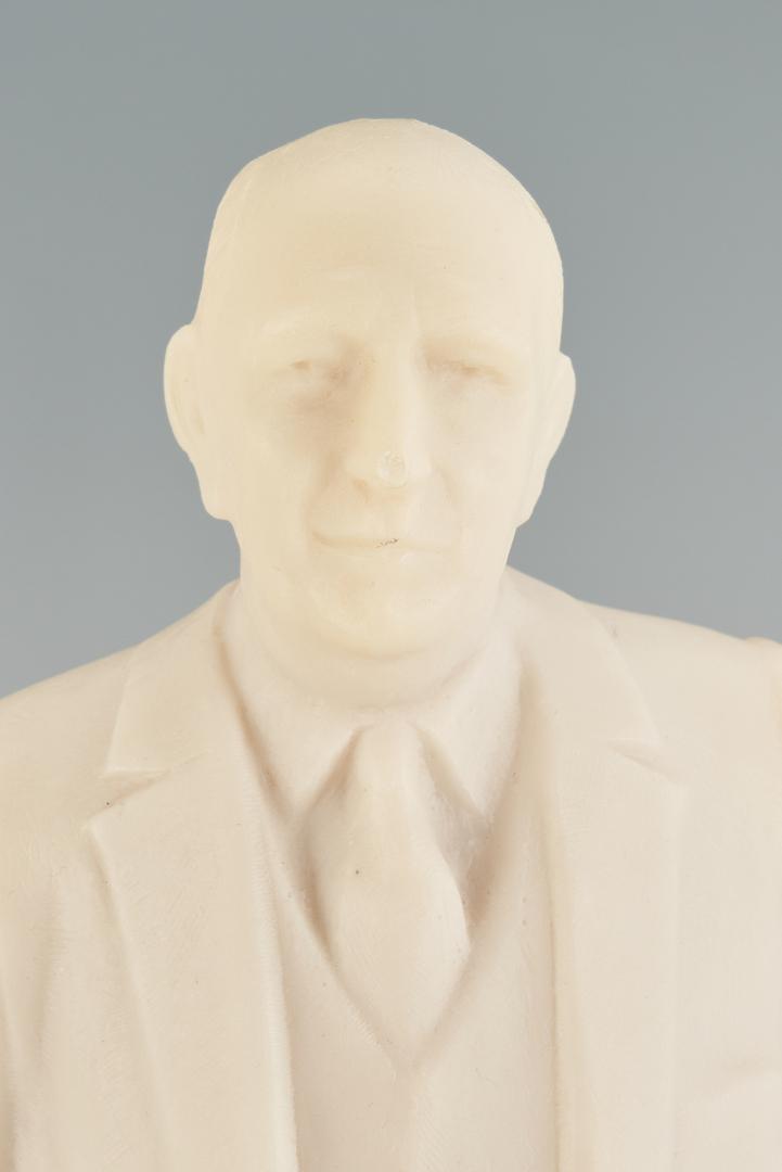 Lot 653: Richard Russell Maquette attr. Frederick Hart
