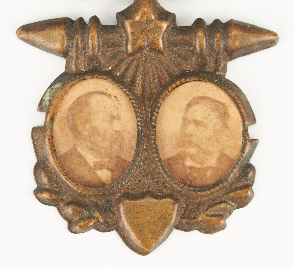 Lot 662: Garfield & Arthur Cardboard Jugate Badge