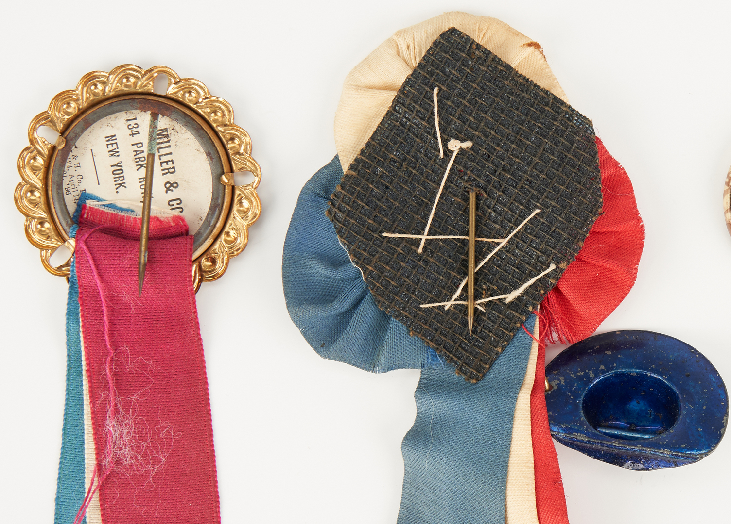 Lot 675: 4 T. Roosevelt Items, incl. Ribbons