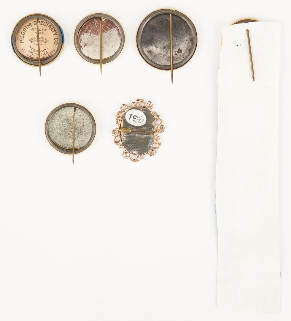 Lot 679: 6 Wilson & Taft Buttons