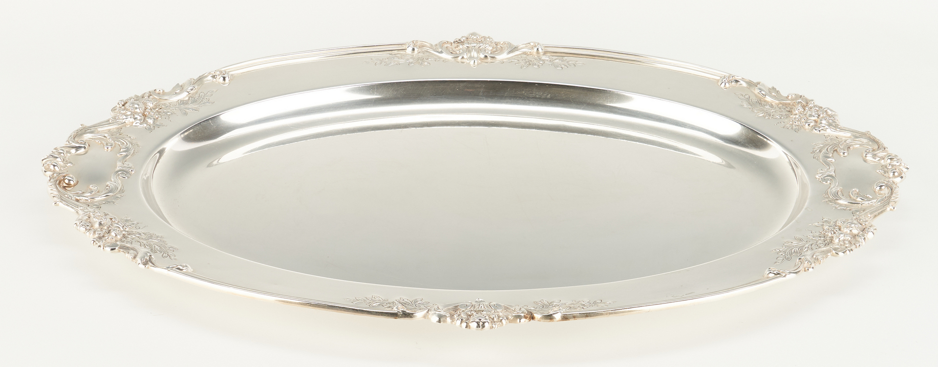 "Lot 67: Reed & Barton Francis I 20"" Hand Chased Sterling Tray"