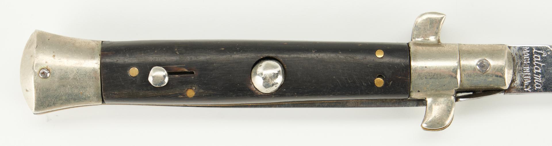 Lot 694: Latama Cutlery Italian Picklock Switchblade