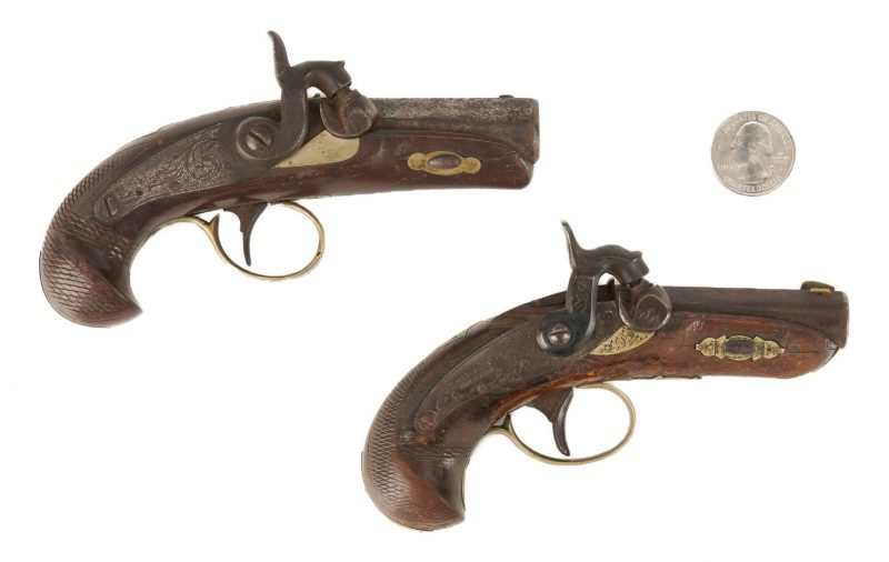 Lot 697: 2 Pocket Derringer Pistols