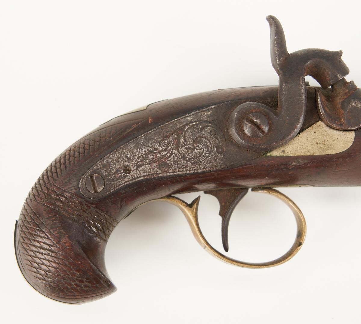 Lot 697: 2 Pocket Derringer Pistols