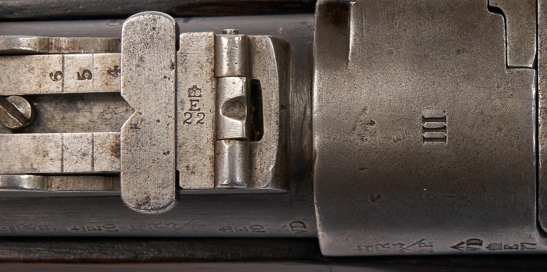 Lot 699: British Enfield-Snider Model 1870 Carbine, .577 Caliber