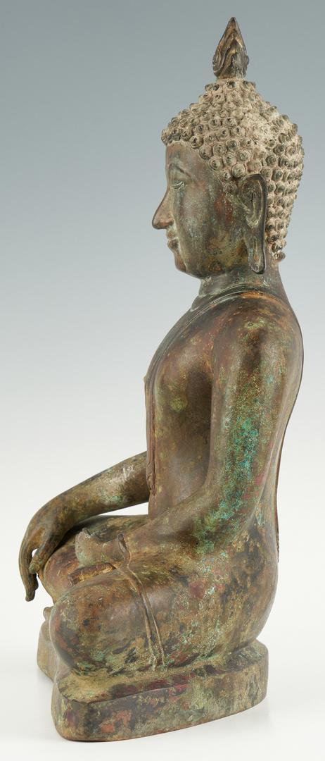 Lot 6: Southeast Asian Bronze Buddha