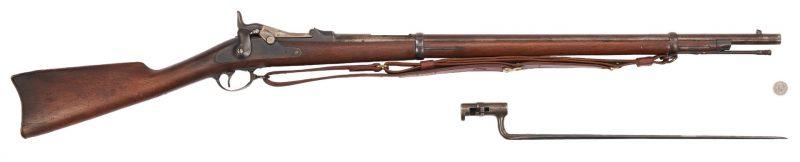 "Lot 700: Springfield Model 1873 ""Trapdoor"" Rifle, .47 cal."