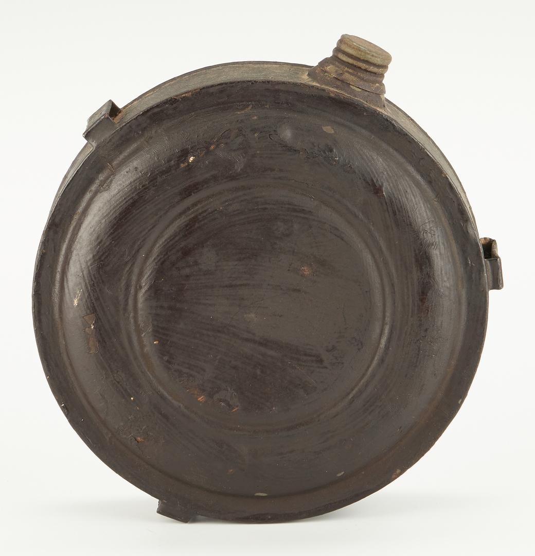 Lot 709: Great Sioux War/Black Hills Canteen, E.L. Morris Inscription
