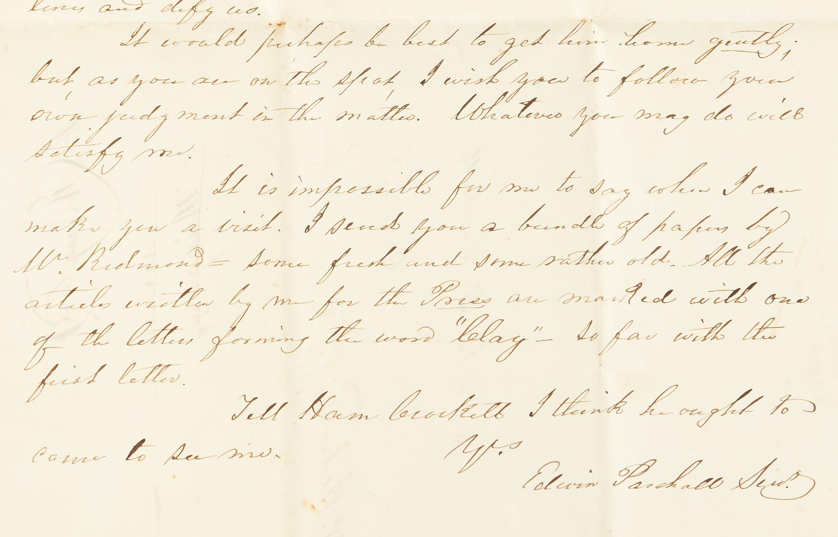 Lot 717: Civil War Buckle Plates, Letter, CDV, 6 items