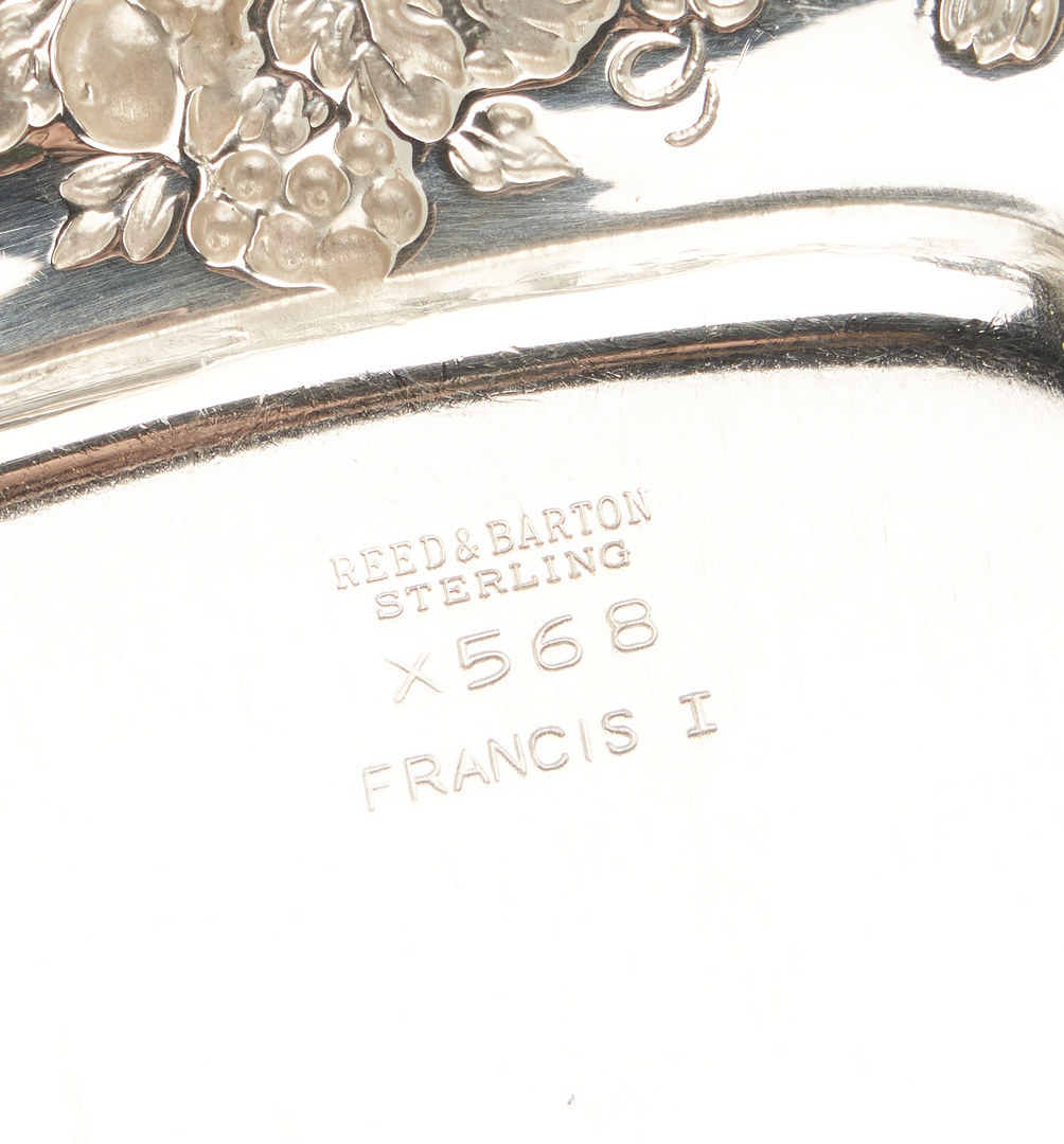 Lot 71: 12 Reed & Barton Francis I Sterling Bread Plates