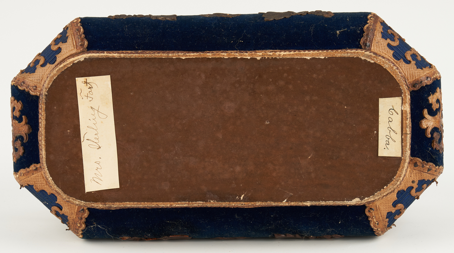 Lot 722: Southern Soldier Photo Archive w/ Paper Mache Box