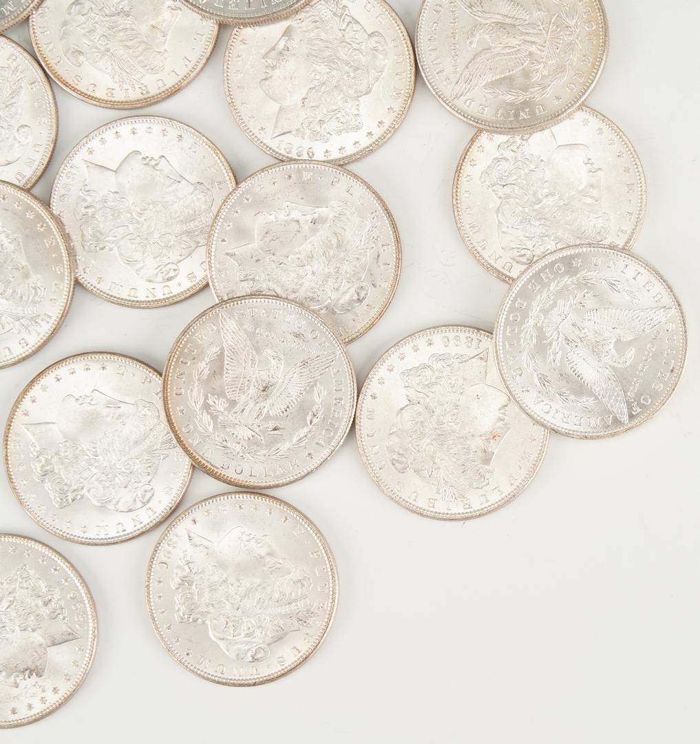 Lot 746: UNC Roll of Morgan Silver Dollars, #3, 1896