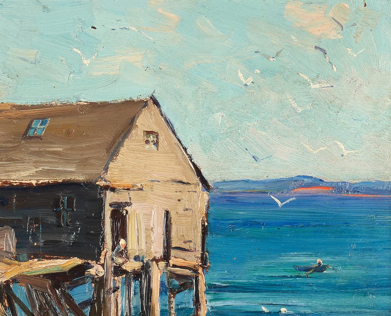 Lot 749: Stanley Woodward O/C Landscape