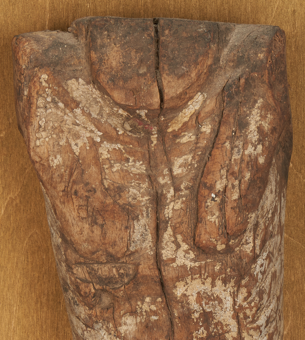Lot 766: Early Carved Santos, Body of Christ