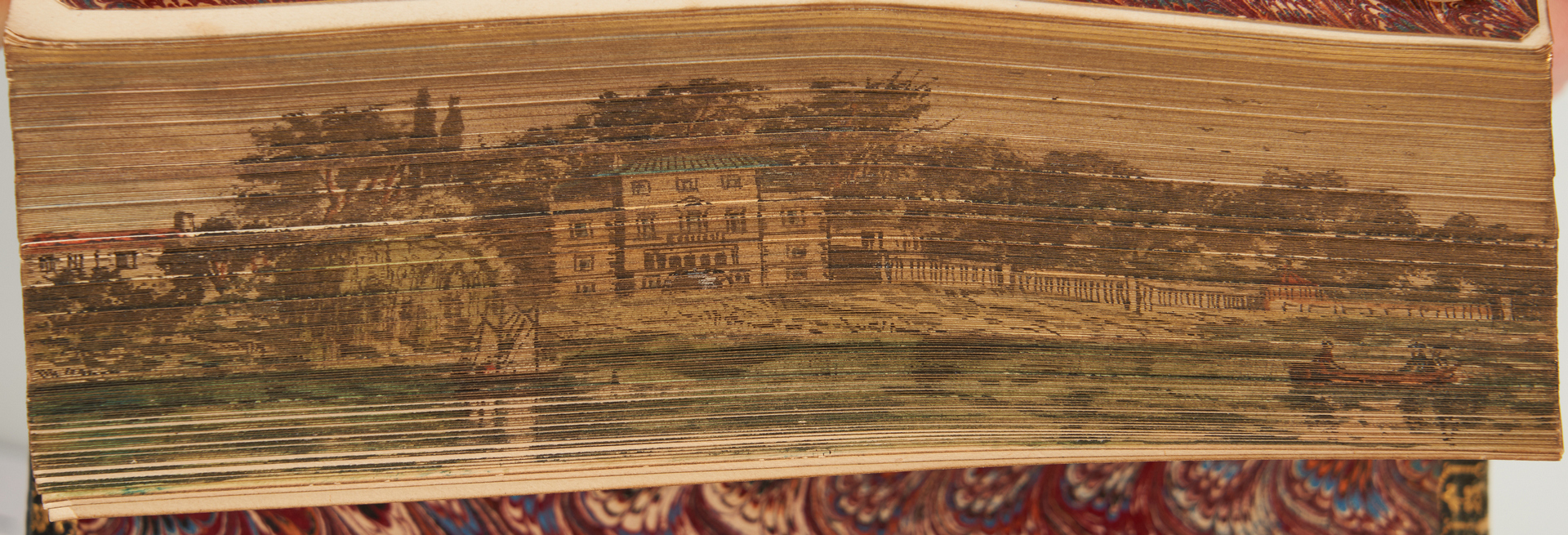 Lot 775: Fore Edge Painted WORKS OF ALEXANDER POPE, 1857