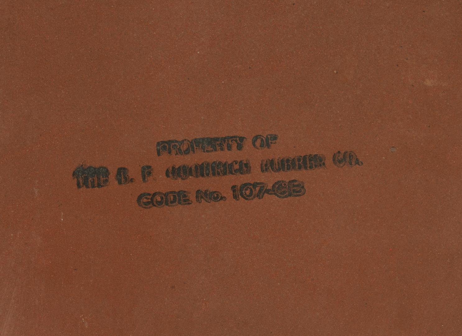 Lot 781: Goodrich Tires Batteries Porcelain Advertising Sign