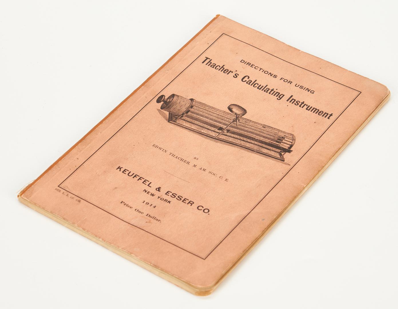 Lot 790: K&E 4012 Thacher Cylindrical Slide Rule