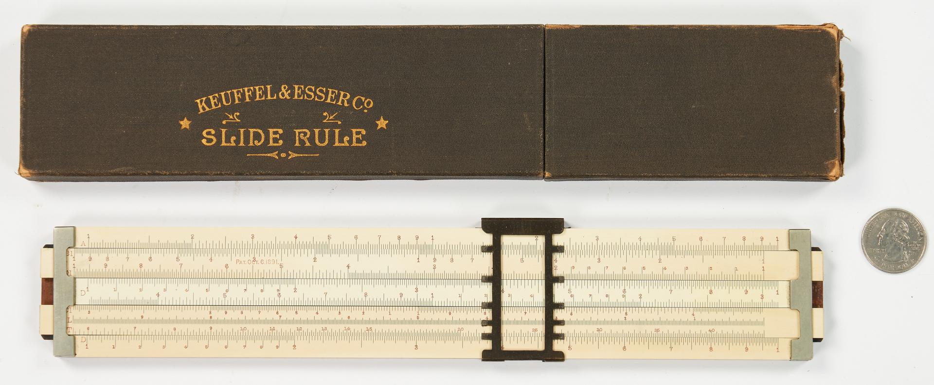 Lot 792: Keuffel and Esser 4090 Universal Slide Rule