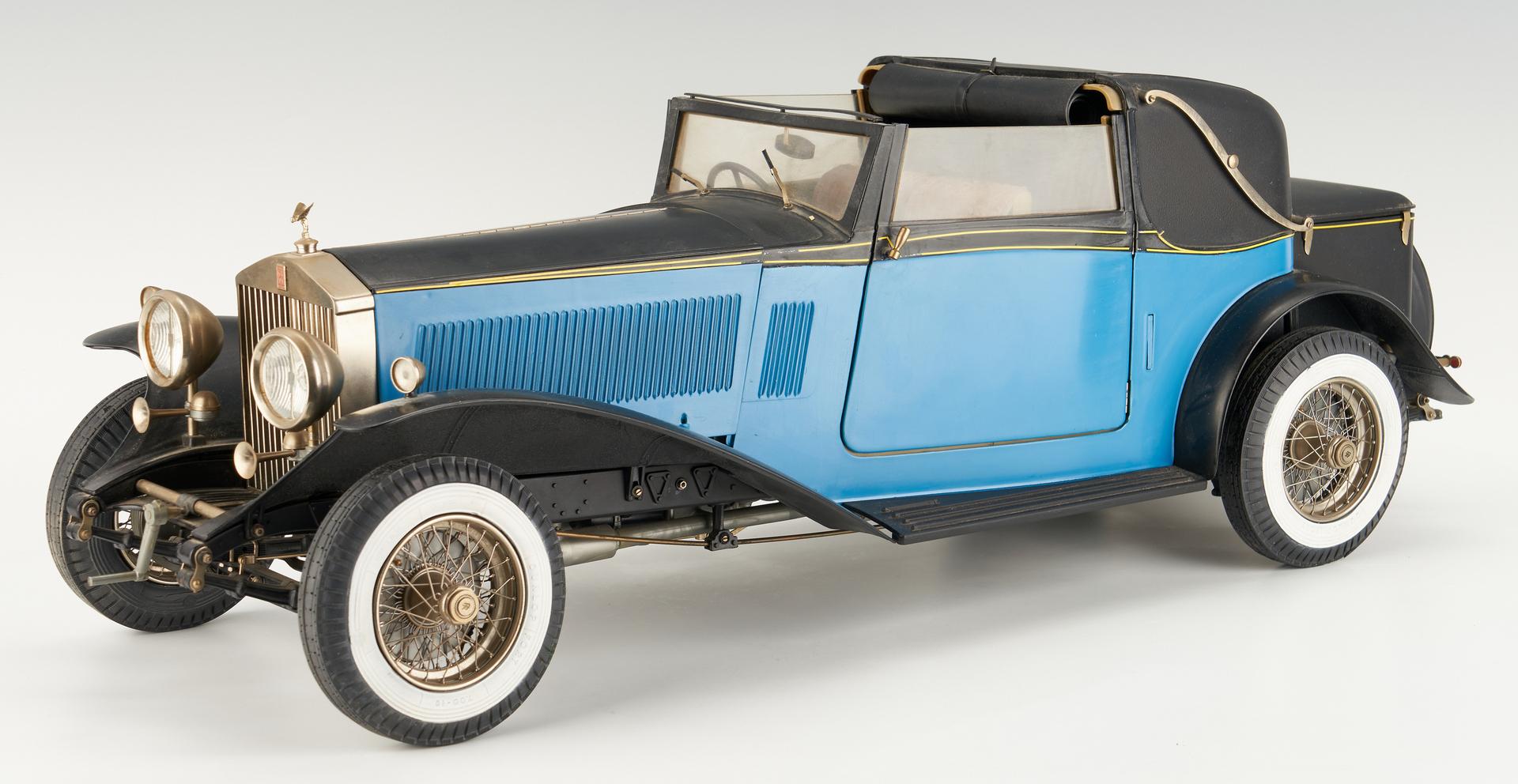 Lot 795: Pocher 1932 Rolls Royce Scale Model