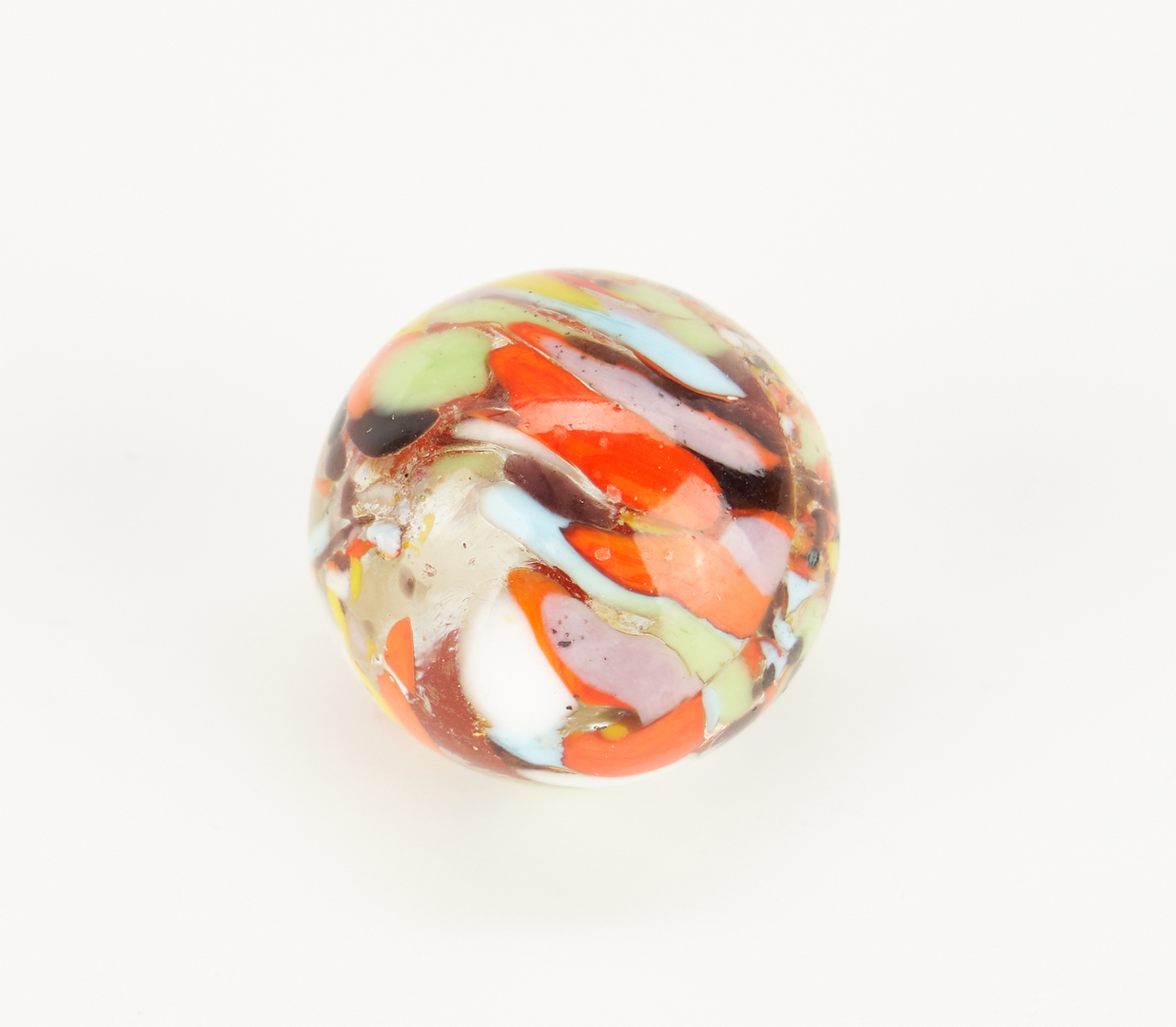 Lot 796: 4 Christensen Agate Company Guinea Marbles