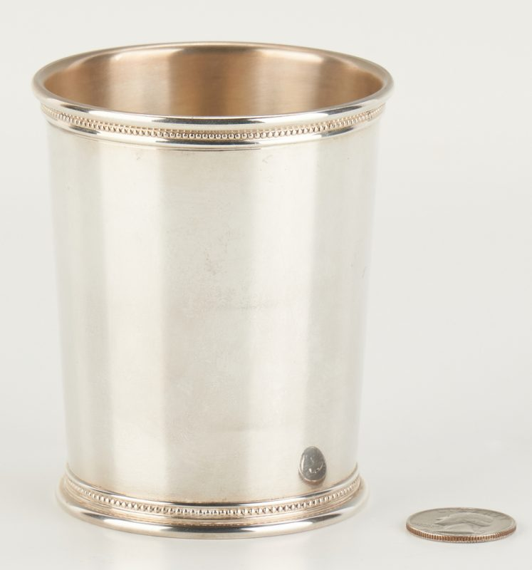 Lot 810: Scearce Presidential Sterling Julep, Obama