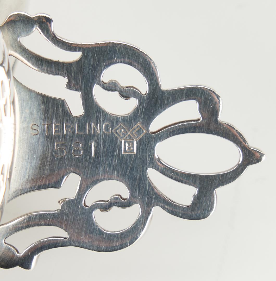 """Lot 820: 10 Sterling """"Porringer"""" Salts and 3 Sterling Bowls"""
