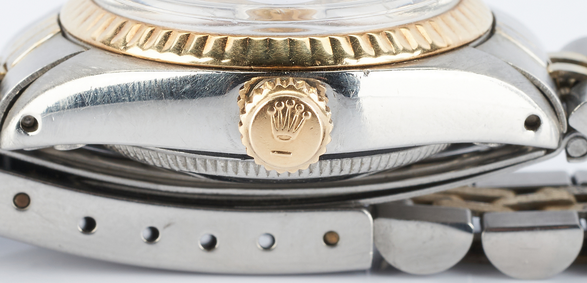 Lot 827: Ladies 26MM Two-Tone Datejust Rolex Wristwatch