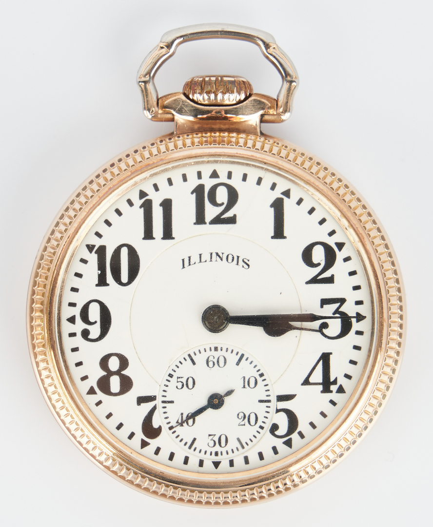 Lot 828: 3 Illinois Bunn Special Pocket Watches