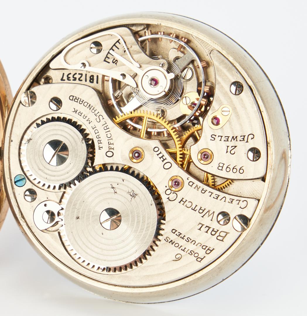 Lot 832: Ball 999B Pocket Watch
